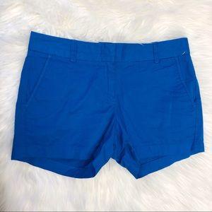 J Crew Blue Chino Shorts